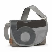 360° Perle | Tweed-schwarz Zahl grau