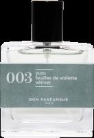 Bon Parfumeur 003 Yuzu / Feuilles de Violette / Vétiver E.d.P. Spray