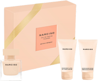 Narciso Rodriguez Narciso Poudrée Set = E.d.P. Nat. Spray 50 ml + Body Lotion 50 ml + Shower Cream 50 ml