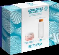Biotherm World Ocean Day Set = Aquasource Crème PS 50 ml + Trinkflasche aus Glas