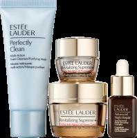 Estée Lauder Revitalizing Supreme+ Starter Set = Youth Power Crème 15 ml + Youth power Eye Balm 5 ml + ANR Serum 7ml + Perfectly Clean Cleanser 30 ml