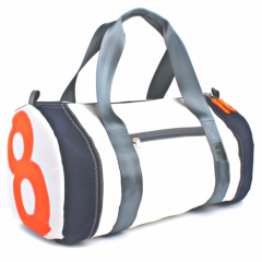 360° Pirat | weiß-grau Zahl orange