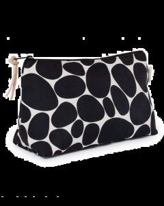 Gyllstad Kulturtasche L STENAR, schwarz auf weiß
