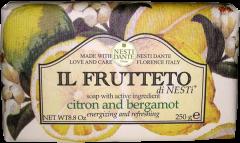 Nesti Dante Firenze Il Frutteto di Nesti Soap Citron and Bergamotte