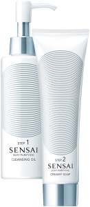 Sensai Silky Purifying Cleansing Oil Step 1