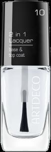 Artdeco 2 in 1 Lacquer Base & Top Coat