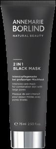 Annemarie Börlind 2 IN 1 Black Mask