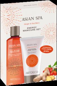 Artdeco Asian Spa New Energy Set = All in One Manicure 150 ml + Hydrating Hand Cream 75 ml
