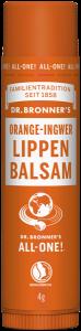 Dr. Bronner's Orange-Ingwer Lippen Balsam