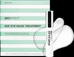 Bioeffect EGF Eye Mask Treatment = EGF Eye Serum 3 ml + 12x Eye Masks