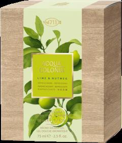 No.4711 Acqua Colonia Lime & Nutmeg Set = E.d.C. Nat. Spray 50 ml + Aroma Shower Gel 75 ml