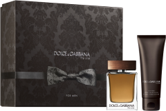 Dolce & Gabbana The One For Men Set = E.d.T. Nat. Spray 50 ml + After Shave Balm 75 ml
