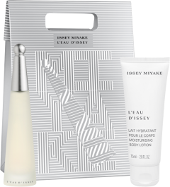 Issey Miyake L'Eau d'Issey Trade Set = E.d.T. Nat. Spray 25 ml + Body Lotion 75 ml