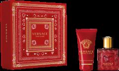 Versace Eros Flame Set = E.d.P. Nat. Spray 30 ml + Shower Gel 50 ml