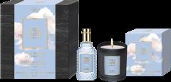 No.4711 Acqua Colonia Intense Pure Breeze of Himalaya Set = E.d.C. Nat. Spray 50ml + Kerze