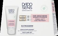 Dado Sens ExtroDerm Gesichtspflege Set = Intensivcreme 50 ml + Intensiv-Pflegekur 2 x 2 ml