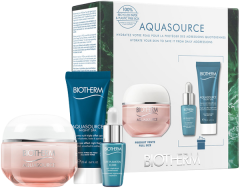 Biotherm Aquasource Creme PS Set = Aquasource Creme PS 50 ml + Life Plankton Elixier 7 ml + Aquasource Night Spa 20 ml