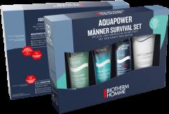Biotherm Aquapower Gifting Starter Set = PNM 30ml + Homme Aquap. Gel Douche 40ml + Rasierschaum 50ml + Lait Corporel 100 ml