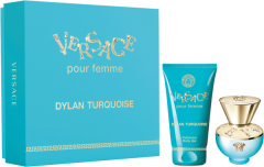 Versace Dylan Turquoise Set =  E.d.T. Nat. Spray 30 ml + Body Gel 50 ml