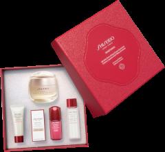 Shiseido Benefiance Set = Wrinkle Smoot.Cream Enr. 50 ml + Clarif.Cleans.Foam 15 ml + Treatm.Soft. 30 ml + Ultim.Pow.Infu.Conc. 10 ml + Smooth. Eye Cream 2 ml