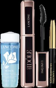 Lancôme Lash Idôle Set = Lash Idôle Mascara 8 g + Mini Bi Facil 15 ml + Crayon Khôl Mini