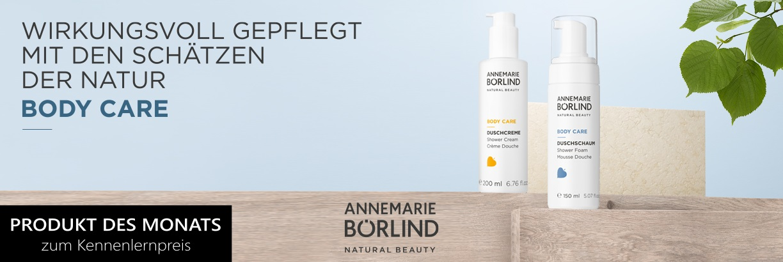 Annemarie Börlind - Produkt des Monats, Body Care zum Kennenlernpreis