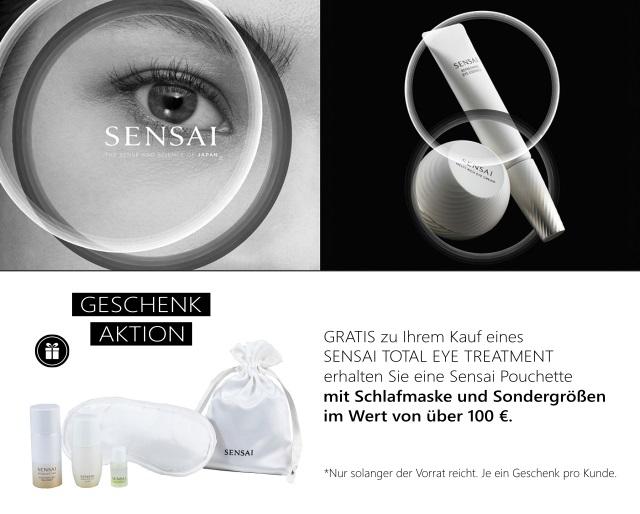 Sensai - Total Eye Treatment Geschenkaktion